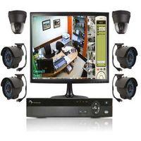 Sistema CFTV industrial
